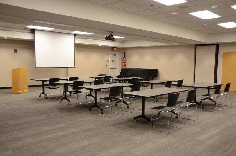 large meeting room at DGPL
