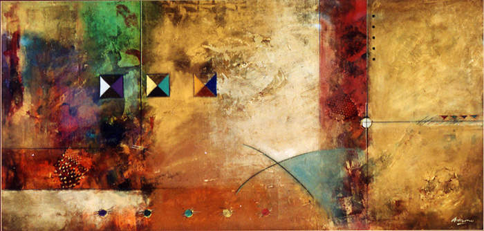 Pietro Adamo's untitled abstract 1