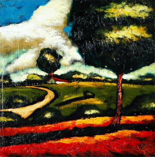 "Sergey Cherep's piece entitled ""Renee's Landscape"""