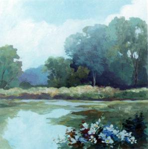 "Alix Stefan's piece entitled ""Resting Spot"""
