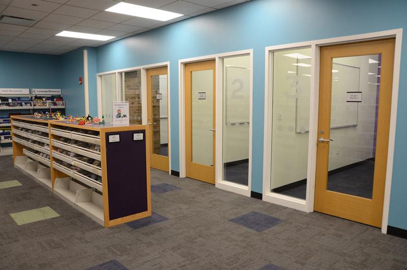 study rooms at DGPL